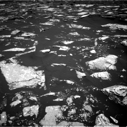 Nasa's Mars rover Curiosity acquired this image using its Right Navigation Camera on Sol 1645, at drive 3100, site number 61