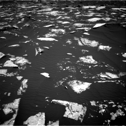 Nasa's Mars rover Curiosity acquired this image using its Right Navigation Camera on Sol 1645, at drive 3118, site number 61