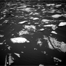 Nasa's Mars rover Curiosity acquired this image using its Right Navigation Camera on Sol 1645, at drive 3136, site number 61