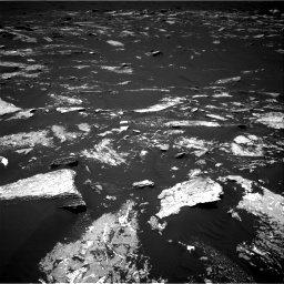 Nasa's Mars rover Curiosity acquired this image using its Right Navigation Camera on Sol 1645, at drive 3214, site number 61