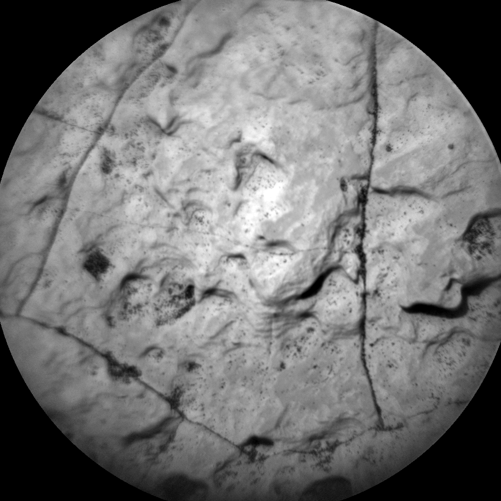 Nasa's Mars rover Curiosity acquired this image using its Chemistry & Camera (ChemCam) on Sol 1645, at drive 3076, site number 61