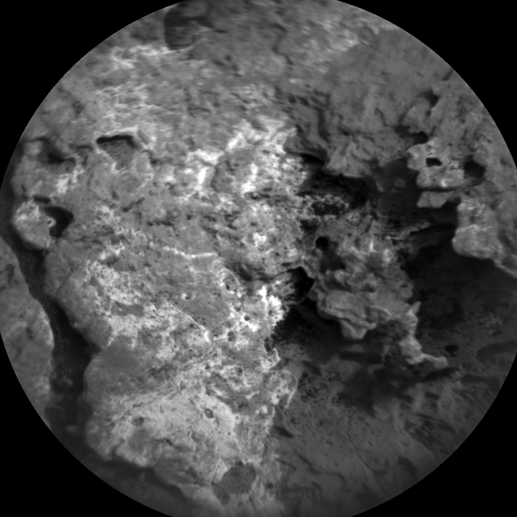 Nasa's Mars rover Curiosity acquired this image using its Chemistry & Camera (ChemCam) on Sol 1645, at drive 3226, site number 61