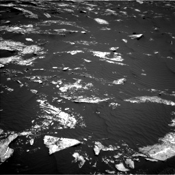 Nasa's Mars rover Curiosity acquired this image using its Left Navigation Camera on Sol 1646, at drive 3238, site number 61