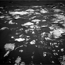 Nasa's Mars rover Curiosity acquired this image using its Left Navigation Camera on Sol 1646, at drive 3424, site number 61