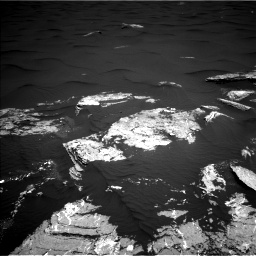 Nasa's Mars rover Curiosity acquired this image using its Left Navigation Camera on Sol 1646, at drive 3472, site number 61