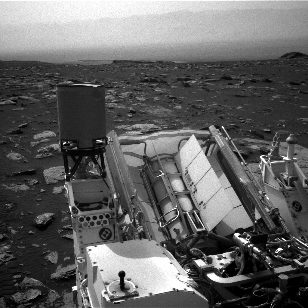 Nasa's Mars rover Curiosity acquired this image using its Left Navigation Camera on Sol 1646, at drive 0, site number 62