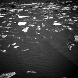 Nasa's Mars rover Curiosity acquired this image using its Right Navigation Camera on Sol 1646, at drive 3370, site number 61