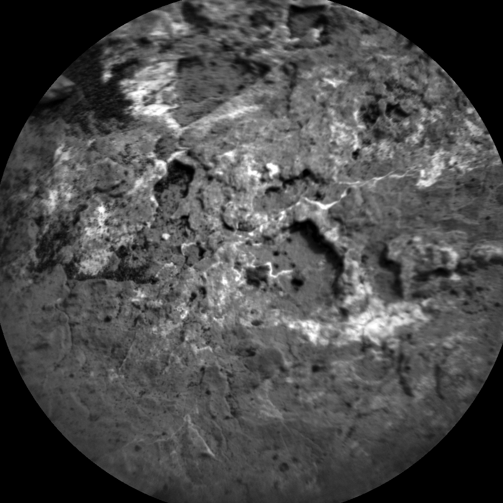 Nasa's Mars rover Curiosity acquired this image using its Chemistry & Camera (ChemCam) on Sol 1646, at drive 0, site number 62