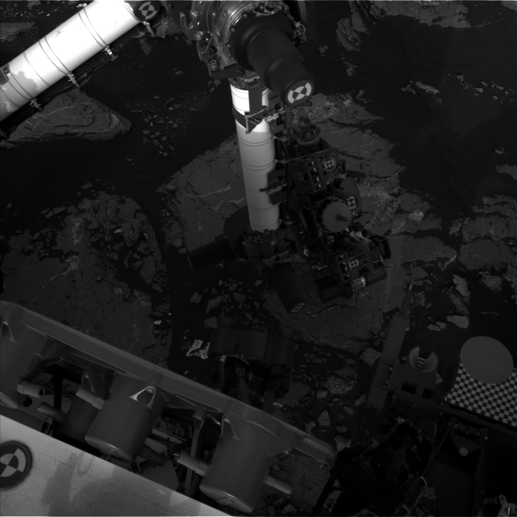 Nasa's Mars rover Curiosity acquired this image using its Left Navigation Camera on Sol 1647, at drive 0, site number 62