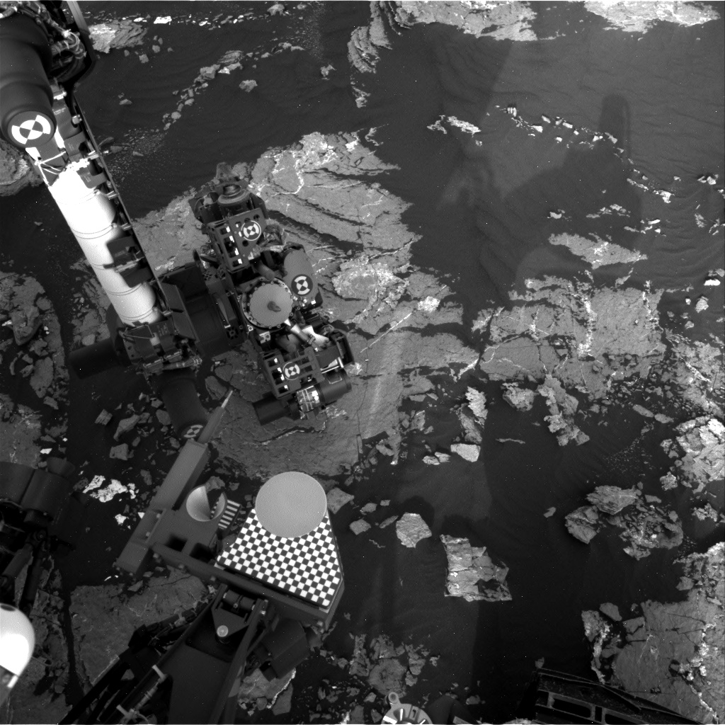 Nasa's Mars rover Curiosity acquired this image using its Right Navigation Camera on Sol 1647, at drive 0, site number 62