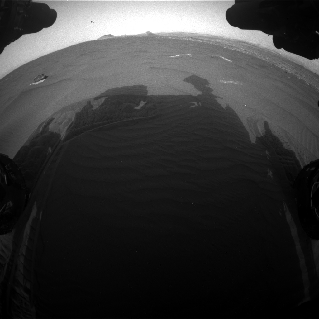 Nasa's Mars rover Curiosity acquired this image using its Front Hazard Avoidance Camera (Front Hazcam) on Sol 1648, at drive 108, site number 62