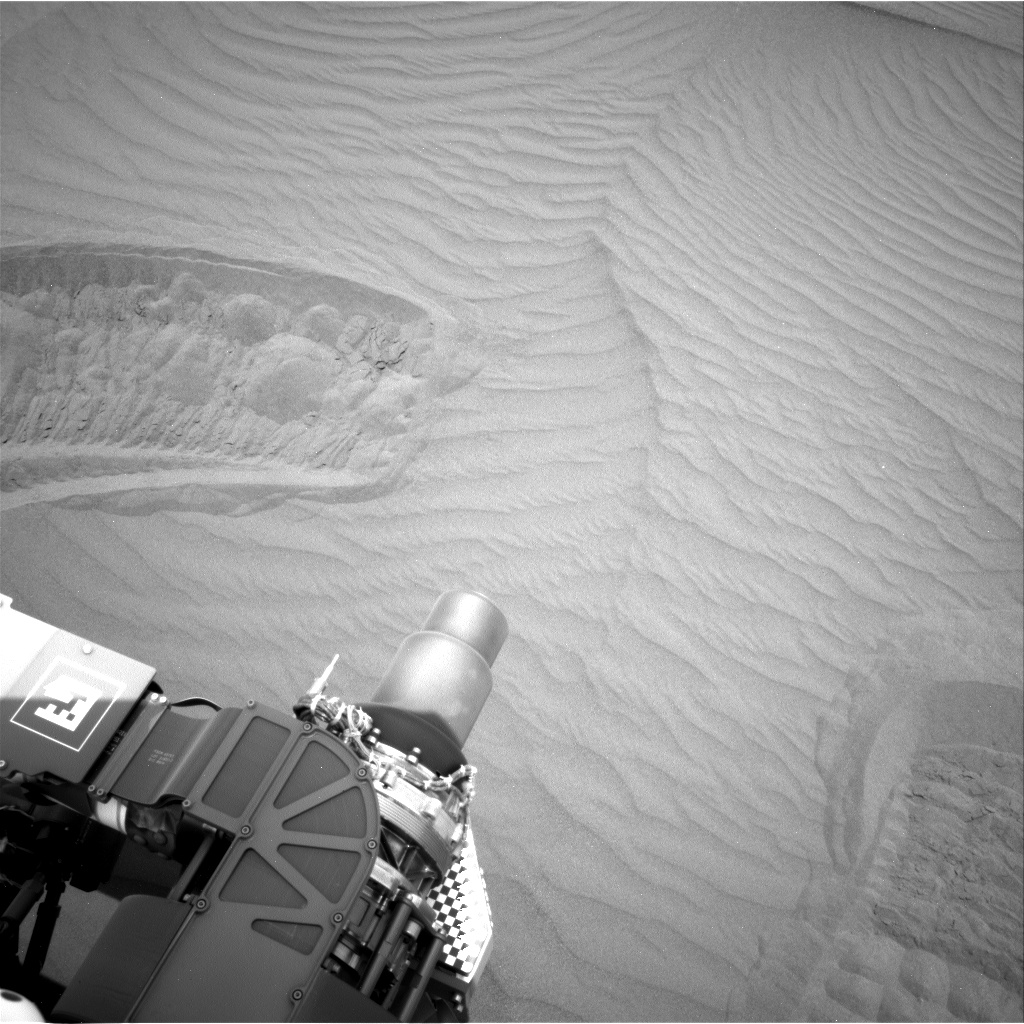 Nasa's Mars rover Curiosity acquired this image using its Right Navigation Camera on Sol 1649, at drive 108, site number 62