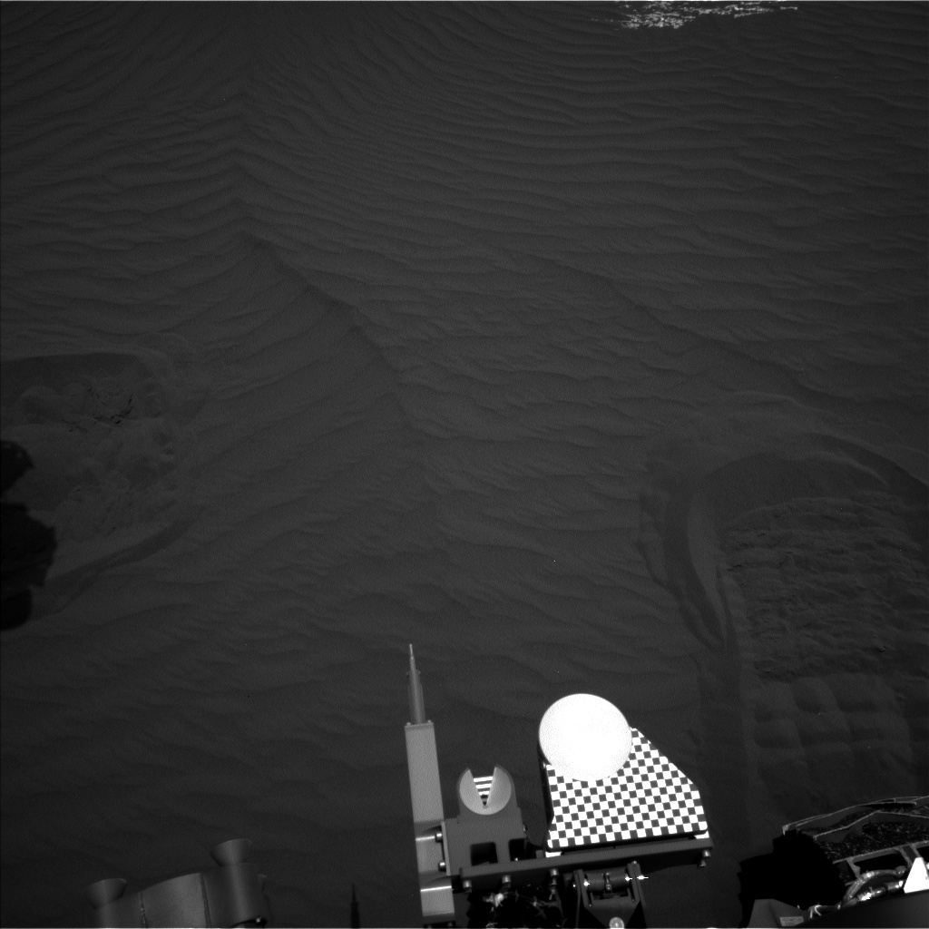 Nasa's Mars rover Curiosity acquired this image using its Left Navigation Camera on Sol 1650, at drive 108, site number 62