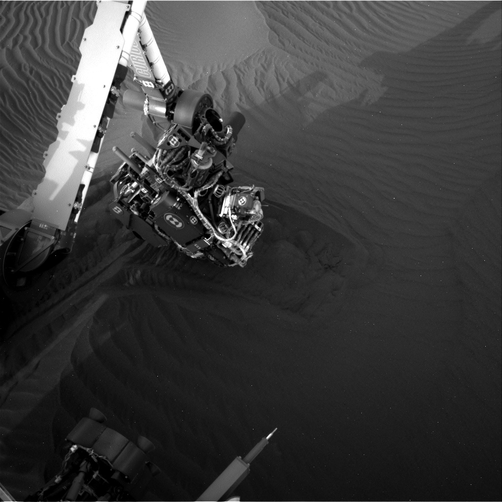 Nasa's Mars rover Curiosity acquired this image using its Right Navigation Camera on Sol 1650, at drive 108, site number 62