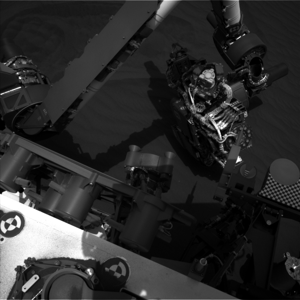 Nasa's Mars rover Curiosity acquired this image using its Left Navigation Camera on Sol 1651, at drive 108, site number 62