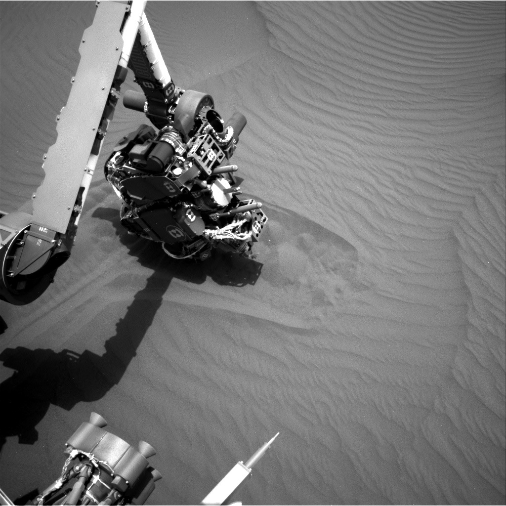 NASA's Mars rover Curiosity acquired this image using its Right Navigation Cameras (Navcams) on Sol 1651