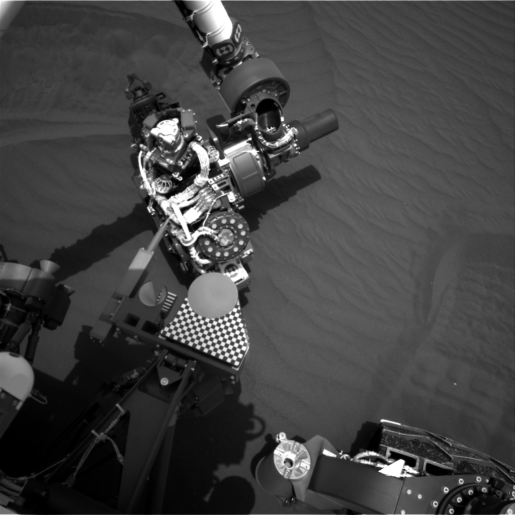 Nasa's Mars rover Curiosity acquired this image using its Right Navigation Camera on Sol 1651, at drive 108, site number 62