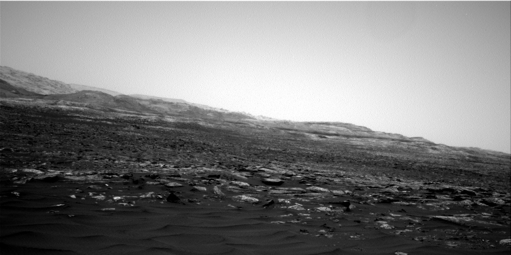 NASA's Mars rover Curiosity acquired this image using its Right Navigation Cameras (Navcams) on Sol 1653