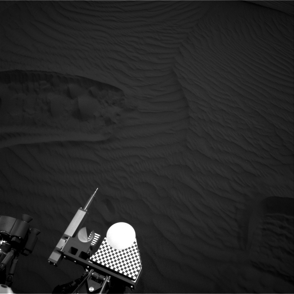 Nasa's Mars rover Curiosity acquired this image using its Right Navigation Camera on Sol 1657, at drive 108, site number 62