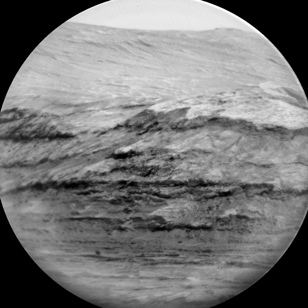 Nasa's Mars rover Curiosity acquired this image using its Chemistry & Camera (ChemCam) on Sol 1657, at drive 108, site number 62