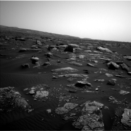 Nasa's Mars rover Curiosity acquired this image using its Left Navigation Camera on Sol 1659, at drive 108, site number 62