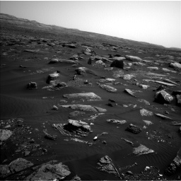 Nasa's Mars rover Curiosity acquired this image using its Left Navigation Camera on Sol 1659, at drive 126, site number 62