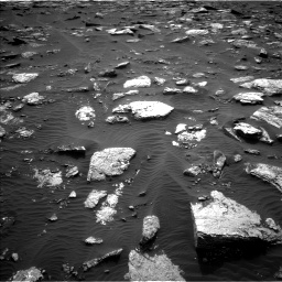 Nasa's Mars rover Curiosity acquired this image using its Left Navigation Camera on Sol 1659, at drive 282, site number 62