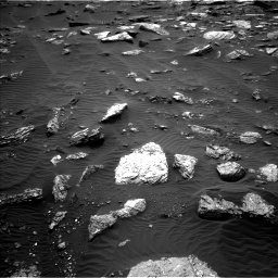 Nasa's Mars rover Curiosity acquired this image using its Left Navigation Camera on Sol 1659, at drive 306, site number 62