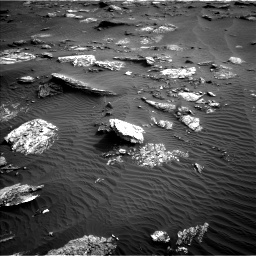 Nasa's Mars rover Curiosity acquired this image using its Left Navigation Camera on Sol 1659, at drive 360, site number 62