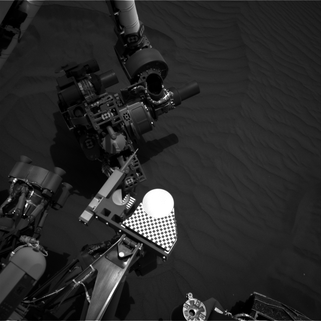 Nasa's Mars rover Curiosity acquired this image using its Right Navigation Camera on Sol 1659, at drive 108, site number 62