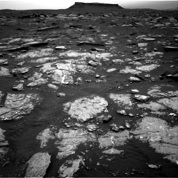 Nasa's Mars rover Curiosity acquired this image using its Right Navigation Camera on Sol 1659, at drive 132, site number 62