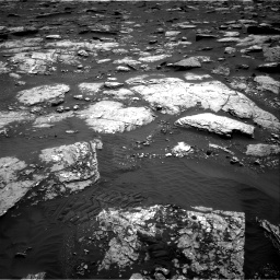 Nasa's Mars rover Curiosity acquired this image using its Right Navigation Camera on Sol 1659, at drive 174, site number 62