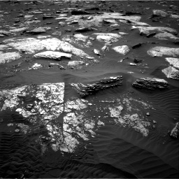 Nasa's Mars rover Curiosity acquired this image using its Right Navigation Camera on Sol 1659, at drive 198, site number 62