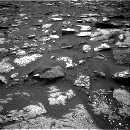 Nasa's Mars rover Curiosity acquired this image using its Right Navigation Camera on Sol 1659, at drive 252, site number 62
