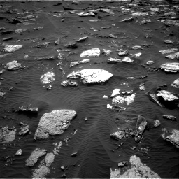Nasa's Mars rover Curiosity acquired this image using its Right Navigation Camera on Sol 1659, at drive 288, site number 62
