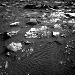 Nasa's Mars rover Curiosity acquired this image using its Right Navigation Camera on Sol 1659, at drive 432, site number 62