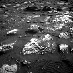 Nasa's Mars rover Curiosity acquired this image using its Right Navigation Camera on Sol 1659, at drive 438, site number 62
