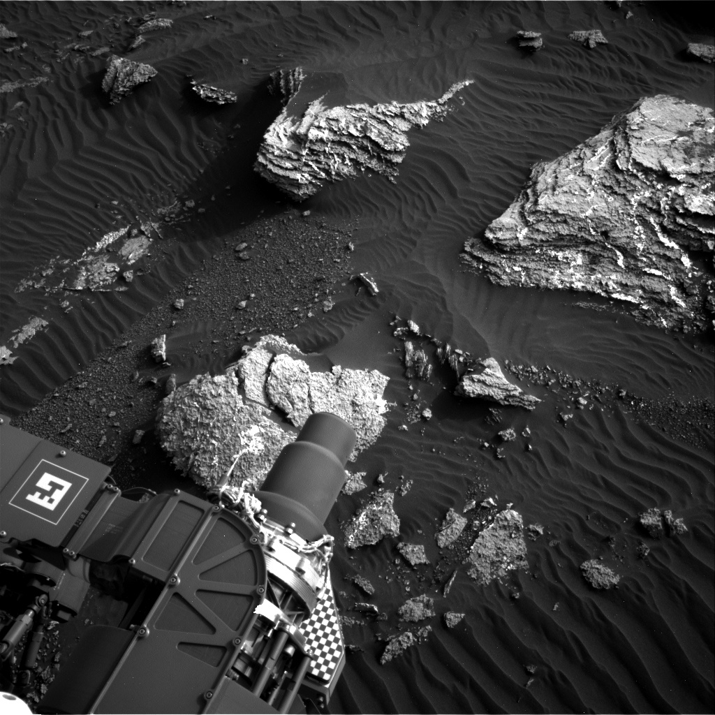 Nasa's Mars rover Curiosity acquired this image using its Right Navigation Camera on Sol 1659, at drive 444, site number 62
