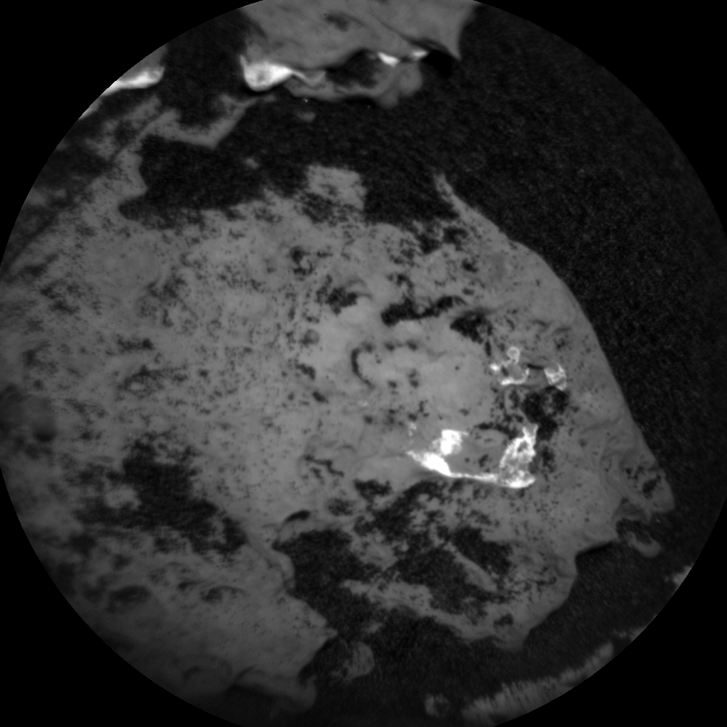 Nasa's Mars rover Curiosity acquired this image using its Chemistry & Camera (ChemCam) on Sol 1660, at drive 444, site number 62