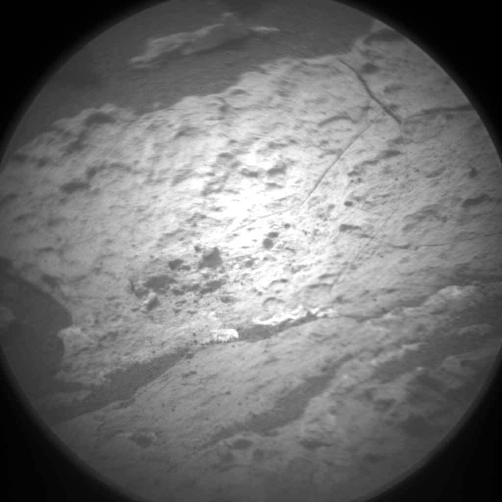 Nasa's Mars rover Curiosity acquired this image using its Chemistry & Camera (ChemCam) on Sol 1662, at drive 660, site number 62