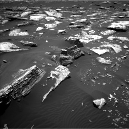 Nasa's Mars rover Curiosity acquired this image using its Left Navigation Camera on Sol 1662, at drive 504, site number 62