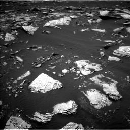 Nasa's Mars rover Curiosity acquired this image using its Left Navigation Camera on Sol 1662, at drive 558, site number 62