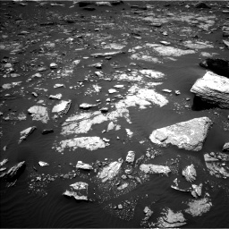 Nasa's Mars rover Curiosity acquired this image using its Left Navigation Camera on Sol 1662, at drive 588, site number 62
