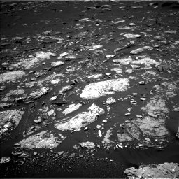 Nasa's Mars rover Curiosity acquired this image using its Left Navigation Camera on Sol 1662, at drive 654, site number 62