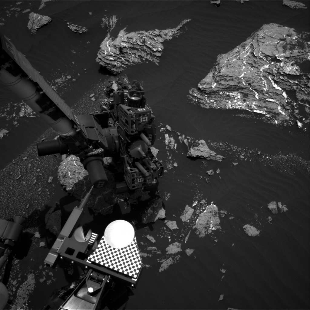 Nasa's Mars rover Curiosity acquired this image using its Right Navigation Camera on Sol 1662, at drive 444, site number 62