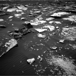 Nasa's Mars rover Curiosity acquired this image using its Right Navigation Camera on Sol 1662, at drive 498, site number 62