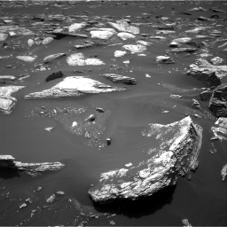Nasa's Mars rover Curiosity acquired this image using its Right Navigation Camera on Sol 1662, at drive 528, site number 62
