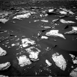 Nasa's Mars rover Curiosity acquired this image using its Right Navigation Camera on Sol 1662, at drive 546, site number 62