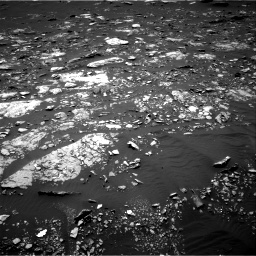 Nasa's Mars rover Curiosity acquired this image using its Right Navigation Camera on Sol 1662, at drive 642, site number 62