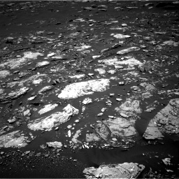 Nasa's Mars rover Curiosity acquired this image using its Right Navigation Camera on Sol 1662, at drive 654, site number 62